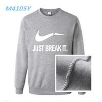 Wholesale Wholesale Designer Sweatshirts - Wholesale-New Hoodies Men Brand Designer Mens Sweatshirt Men with Luxury Harajuku Sweatshirt Men Brand M-XXXL free delivery