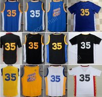Wholesale Top Chinese Sale - Top Quality 35 Kevin Durant Jersey Men Sale Throwback Chinese Durant Basketball Jerseys 33 High School Christmas Stitching with player name