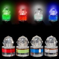 Wholesale Sea Fishing Light - Deep Sea Lamp Night Fishing LED Light Underwater Luring Multicolor Quick Fish Gathering Lights In The Water Trap Gear 6 5dk H1