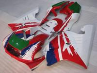 Wholesale Honda Fairing Nsr - Plastic Fairings NSR250 RR 1993 Full Body Kits for Honda NSR250R 1992 White Red ABS Fairing NSR 250RR 1991 1990 - 1993 NC21