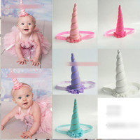 Girls Unicorn Accessoires pour cheveux Headbands Baby Girl Easter Hairbands Ball Headwear Princess Birthday Party Dress Up Lovely Hair Band A7051