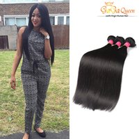 Wholesale Cheap Natural Hair Products - Factory Wholesale Cheap 3Bundles Brazillian Straight Beauty Grace Hair Products 7A Brazilian Hair Bundle Deals Natural Color