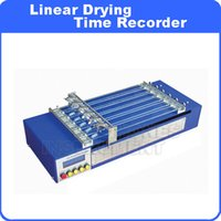 6-12-24-48 hrs -for any application speed application - Linear Drying Time Recorder Simultaneous testing of samples Four different speeds hrs for any application