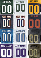 Unisex packers throwback jerseys - 2017 Customized Detroit Lions Green Bay Packer Minnesota Chicago Vikings Bears American Football Jerseys Throwback Custom Youth Jersey Cheap