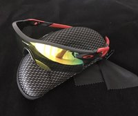 Wholesale Radarlock Polarized - 2017 Brand Sale Radar Ev Radarlock OO 9206 Men Polarized Cycling Sun Glasses Bicycle Sport Sunglasses For Men Box Oculos Bike Gafas Ciclismo