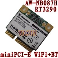 Wholesale Pci Card Size - Wholesale- AzureWave AW-NB087H Ralink RT3290 Chipset IEEE 802.11 b g n 150Mbps with Bluetooth 3.0HS Half Size MINI PCIe Wi-Fi Card WLAN