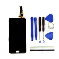 Wholesale 5inch Lcd - Wholesale-100% New For Meizu M2 Mini LCD Display + Digitizer Touch Screen Replacement 5Inch Meiblue M2 Mini Phone Parts With Free Tools