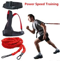Wholesale 23ft Run Speed Explosive Force Trainer Resistance Bungee Band Strength Training
