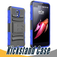 Wholesale Nexus Slip - Kickstand Hard Back Cover Shockproof Slip Holder PC+TPU 3 in 1 Customized For LG G4 Stylus G Stylo LS770 Vista 2 H740 G2 D800 Nexus 5 V10