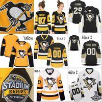 Wholesale Woman S Toms - Womens Pittsburgh Penguins 72 Patric Hornqvist 81 Phil Kessel 34 Tom Kuhnhackl 75 Ryan Reaves 2017 Stadium Series Custom Stiched Jerseys