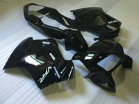 abs-kit für motorrad großhandel-Motorrad Verkleidungssatz für HONDA VFR800 98 99 00 01 VFR800RR 800 1998 1999 2000 2001 Schwarz glänzend ABS Verkleidungssatz + Geschenke Hw01