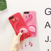 New Leather Cell Phone Cases Soft Blando Silicone Cat 3D Animal Phone Cases para Iphone 6 4.7