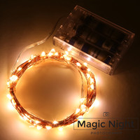 Wholesale Warm White Submersible Led Light - Magicnight 20ft 60 Warm White Mini Micro LED Starry Lights Submersible Fairy Lights Copper LED String Light for Home Decoration