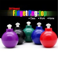 Wholesale Top Selling Adult Toys - New Hot Selling Fidget Peg-top Desktop Toys Spinner Roll Pen Decompression Toys for Children Adults Focus Relive Gifts with Retail Packing