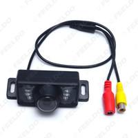 Discount ir waterproof car reversing camera - FEELDO Waterproof Car Night Vision Rear View Camera With 7 IR Leds For Vehicle Parking Reverse System #4789