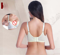 Wholesale Hues Color - 2017 new nursing bra gather anti-sagging women underwear candy hues fight 100% Cotton Professional maternity care underwear B C D cup 291