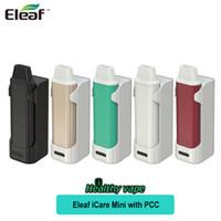 Wholesale Pcc Kits - Original Eleaf iCare Mini Starter kit 2300mah PCC Mod 1.3ml Capacity An Internal Tank and Airflow System