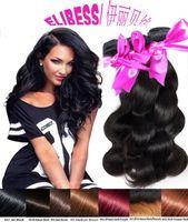 Wholesale Taking Weave - Manufacturers sell like hot cakes take-away Beautiful hair body wave reality posey virgin hair black50 grams of 100% human hair black