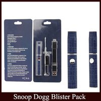 Wholesale Wholesale Herbal Vape Pen - Snoop Dogg Dry Herb Vaporizer Blister Pack 5 color micro Pen Herbal VAPORIZER Blister Kit G Vape Pro vs pen G 2.0