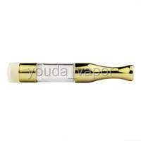 Wholesale Disposable E Cigarette Atomizer - 2017 vaporizer pen cartridges disposable atomizer cartridge thick oils 510 empty gold e cigarette cartridges atomizer--03