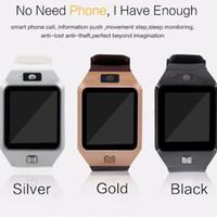 u8 smart watch оптовых-Смарт-часы DZ09 GT08 U8 A1 Wrisbrand Android Смарт-SIM Интеллектуальные часы мобильного телефона могут записывать состояние сна Смарт-часы