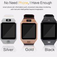 u8 android smartwatch großhandel-DZ09 Smartwatch GT08 U8 A1 Wrisbrand Android Smart SIM Intelligente Handy-Uhr kann den Schlafzustand Smartwatch aufzeichnen