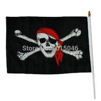 Haus & Garten Fahnen, Banner & Zubehör Ösen Beste Deal Bar Spukhaus Holloween Party Dekoration 1 Pc Pirate Flags Crossbones Sabres Schwerter Jolly Roger