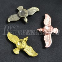 Wholesale Women Toy For Man - Newest eagle fidget Spinner Fingertip stars metal spinner Gyro hand Spinner EDC Decompression Anxiety Fidgets Toys for men women