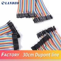 Wholesale Arduino Male Female - Dupont line 120pcs 30cm male to male + male to female and female to female jumper wire Dupont cable for arduino