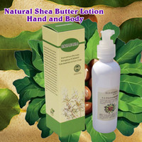 Wholesale Natural Shea Butter Lotion Hand and Body ml Moisturizing the skin and repairing the skin Sensitive skin care