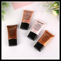Wholesale Wholesale Glow Dark Powder - NYX Brand Liquid Foundation Face Concealer Makeup Born To Glow Liquid Illuminator BB Cream Make Up Powder Cosmetics Skin Care 18ml