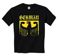 Wholesale Germany Coat - man t-shirt Old German Empire Eagle Emblem Crest Coat Of Arms Germany Pride Mens T-Shirt