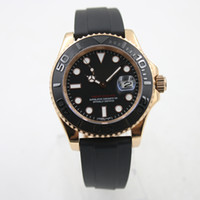Wholesale Logo Geneva - luxury brand watch YACHT 41mm MASTER AAA replicas model watch automatic watch day logo watches Men's Wristwatch geneva diver 94