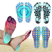 Beach Invisible Anti Slip Insoles Starry Emoji Smile Mandala Nakefit Isolamento térmico Soles impermeáveis ​​Stick On Feet Pads Meias TOP1964