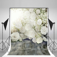 Wholesale muslin backdrops for photography - 5x7ft(150x220cm) Wedding Backdrops Flowers Romantic Photography Backgrounds for Photo Studio fond pano de fundo para estudio Fotografia