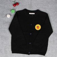 Wholesale Children S Animal Sweater Coats - Children 's Clothing Custom Autumn New Sweater Cardigan Children' S Cotton Knitted Coat Spot