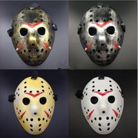 Wholesale Jason Voorhees Face - Jason Voorhees Friday the 13th Horror Movie Hockey Mask Scary Halloween Mask
