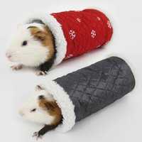 Wholesale hamsters sale - Top Sale Hamster Guinea Pig Tunnel Toy Parrot Bird Cage Bed Hedgehog Chinchilla House Cave Samll Animals Pet Products JJ0246