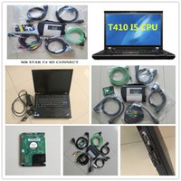Wholesale mb cpu resale online - MB Star C4 SD Connect HDD Diagnostics System Compact Diagnosis Multiplexer For MB Cars Trucks Diagnose T410 I5 CPU G laptop
