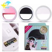 Lighting black lighting portable - Selfie Portable Flash Led Camera Phone Ring Light Enhancing Photography for Smartphone iPhone Samsung white pink blue black