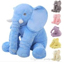 Wholesale Fashion Style Bedding - 60cm Fashion Baby Animal Elephant Style Doll Stuffed Elephant Plush Pillow Kids Toy for Children Room Bed Decoration Toys 5Color b502