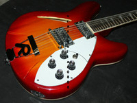 Wholesale Electric 12 String Rick Guitar - Cherry 12 Strings 325 330 Rick Electric Guitar Best High Quality Musical instruments