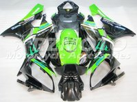 Wholesale Top Fairing R6 - New TOP Injection ABS Fairings For Yamaha YZF600 R6 Year 06 07 2006 2007 ABS Plastics Motorcycle Fairing Kit Bodywork Cowling black green