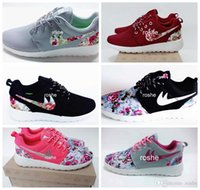 Wholesale Shoes Tick - New Colors Run Flower Running Shoes For Women & Men, Lightweight Mesh Runs Floral Tick Athletic Sport Sneakers Eur 36-45