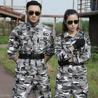 Uniformi militari Tatico tuta mimetica da uomo Army Combat Jacket Pant Uniforme Militar Set tattico CS White Hunting Clothing