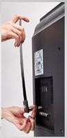 телевизионное вещание оптовых-ТВ-приемник, цифровая комнатная антенна, изящный тонкий дизайн, скрытый за телевизором