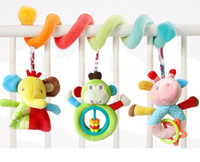 Wholesale Infant Lathe Hanging Toys - Baby Mobile Musical Bed Stroller Revolves Around Playing Crib Lathe Hanging Bell Infant Rattles Toys for kids