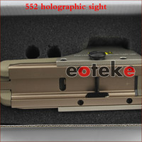 Wholesale 552 Red Dot Sight - Tactical riflescopes 552 Holographic sight Red Dot Scope Reflex For Hunting for picatinny 20mm rail mount