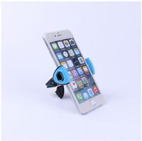 apfel iphone steht großhandel-Universal 360 Grad Auto Windschutzscheibenhalterung Zelle Handy Clipper Fahrzeug Swivel Mounts Halter Halterung steht für Iphone 6 7 Samsung LG