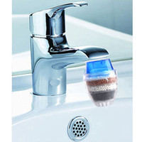 musluk araçları toptan satış-Ev Aracı Için Aktif Karbon Musluk Su Su Arıtma Kullanım Mutfak Musluk Dokunun Su Filtresi Toptan